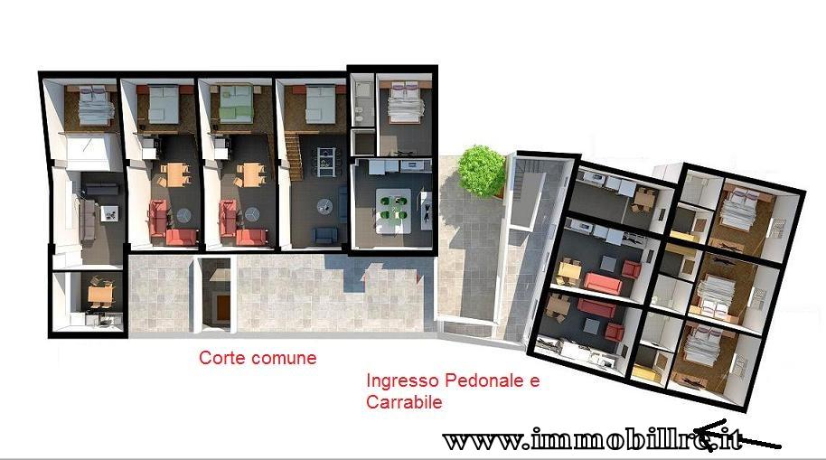 Bilocale Palermo Zona Piazza Don Luigi Sturzo 1